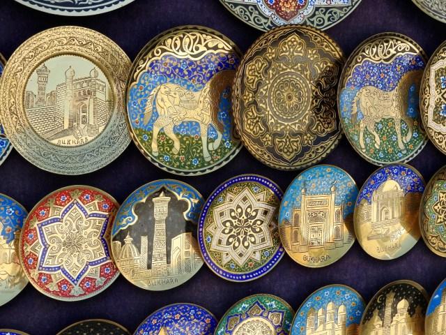 Decorative Plates, Bukhara