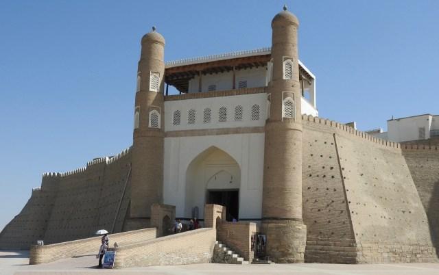 The Entrance to the Ark, Bukhara, Uzbekistan