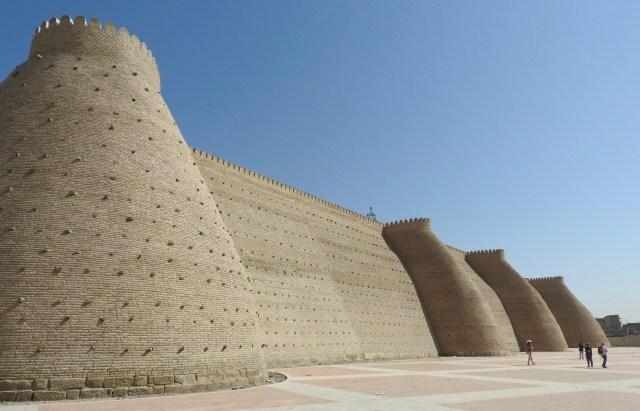 The Walls of the Ark, Bukhara, Uzbekistan
