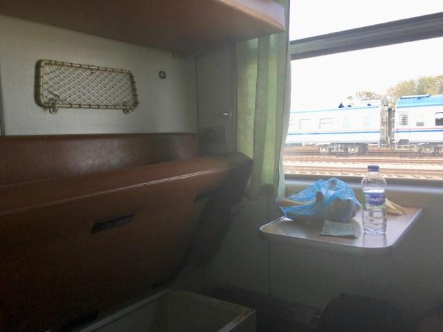 Compartment Turkmen Train
