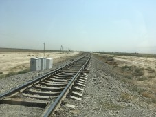 Train Tracks, Turkmenistan