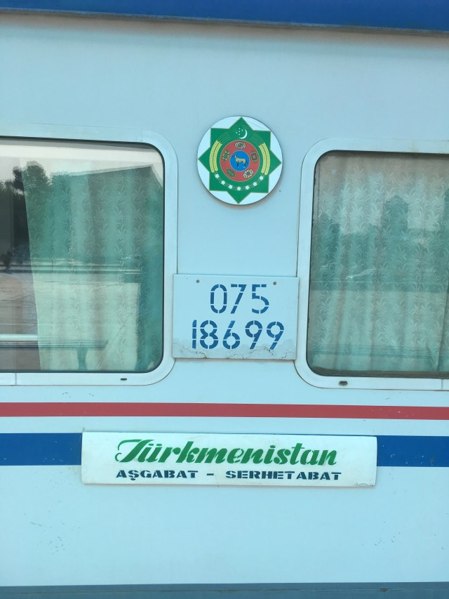Turkmenistan Railways Livery