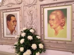 Eva & Juan Peron Portraits