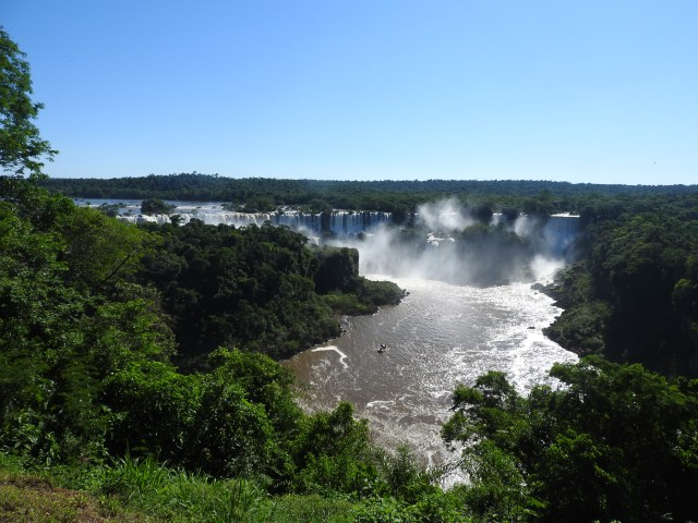 Iguacu Falls Brazil First Sighting