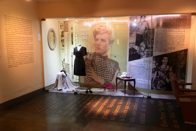 Museo Evita Exhibit