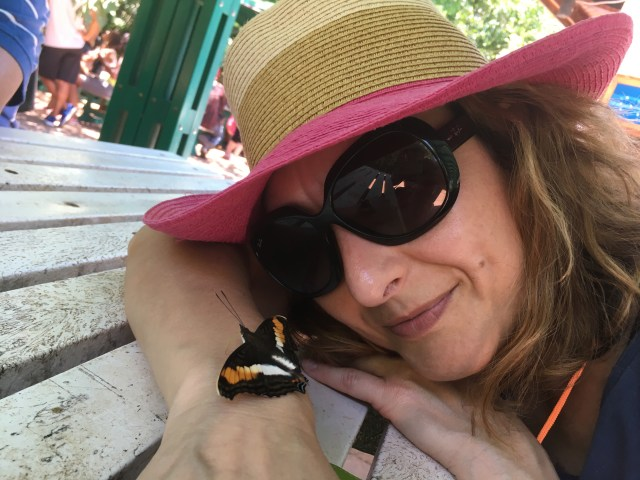 Butterfly bracelet, Iguazu Falls, Argentina