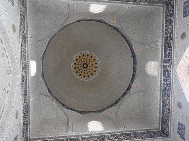 Bibi-Khanym Mosque Interior, Samarkand, Uzbekistan