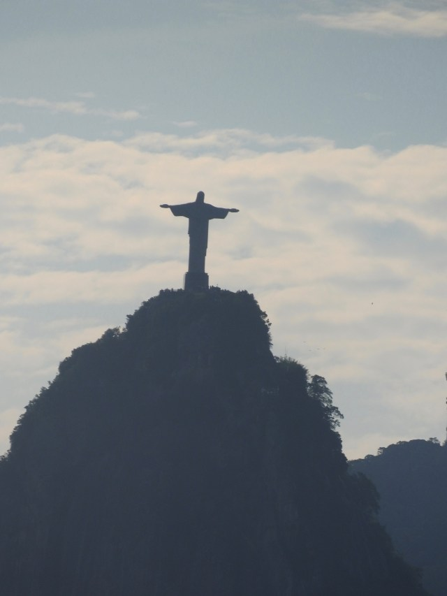 Christ the Redeemer from Sugarloaf Mountain, Rio