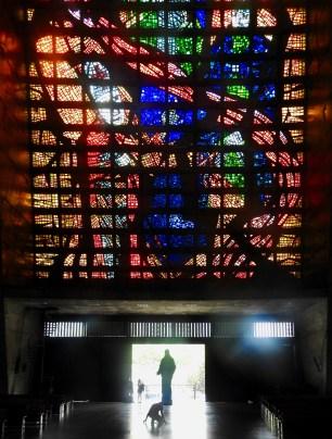 Inside Catedral de São Sebastião, Rio de Janeiro