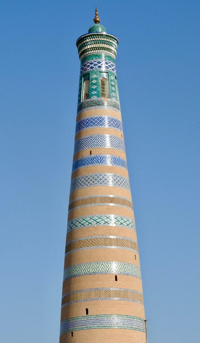 Minaret of Islam-Khodja, Khiva, Uzbekistan
