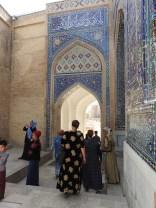 Shahi Zinda Mausoleum Complex, Samarkand, Uzbekistan