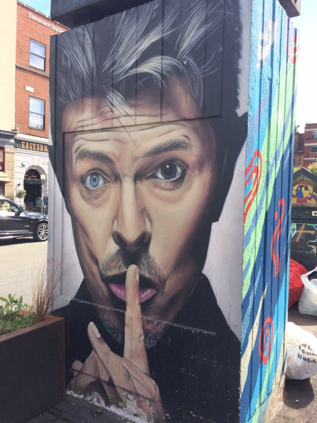 David Bowie, Street Art in Manchester's Northern Quarter