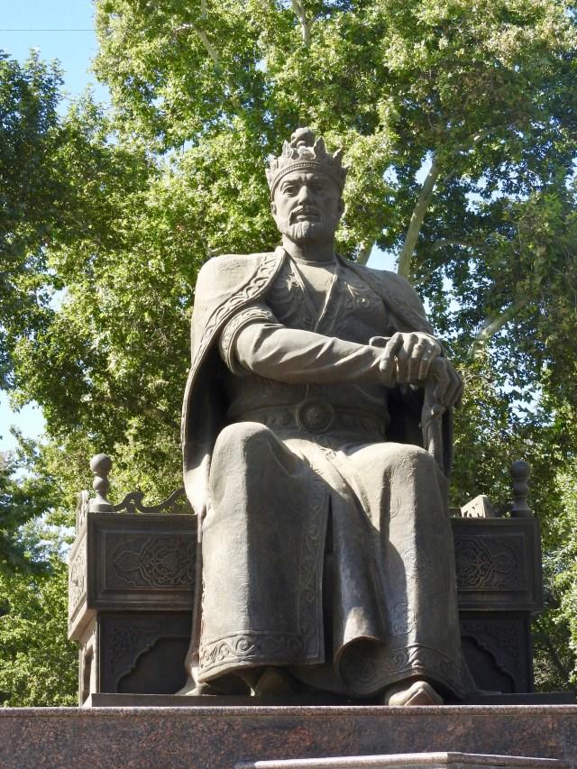 Timur's Statue, Samarkand, Uzbekistan