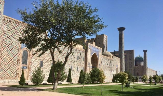 Ulugh Beg Madrasah, Samarkand, Uzbekistan