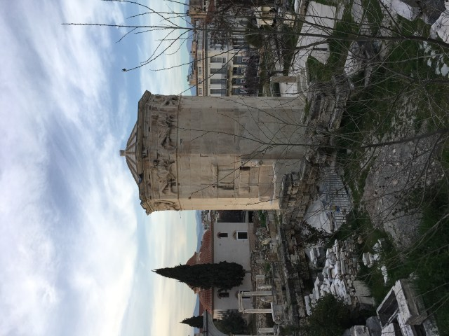 The Tower of the Winds, Plaka, Athens