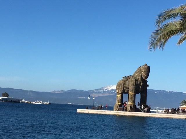 Trojan Horse, Halkida, Greece