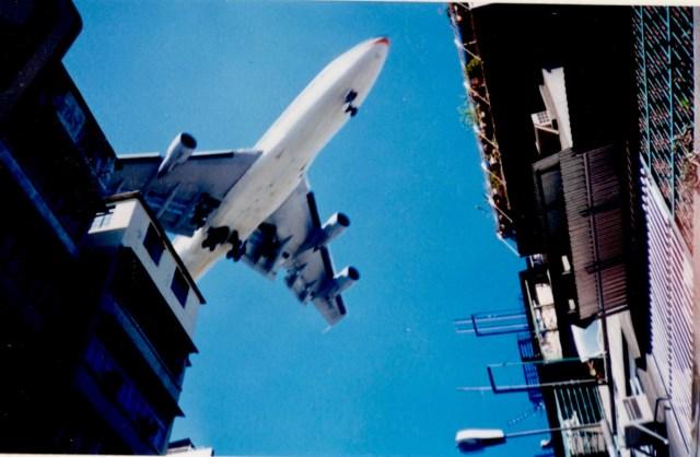 Aeroplane, Kowloon, Hong Kong 1996