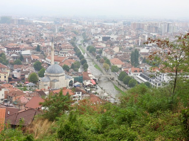 Prizren, Kosovo, View From The Castle
