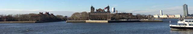 Ellis Island Immigration Center, Manhattan Harbour, New York