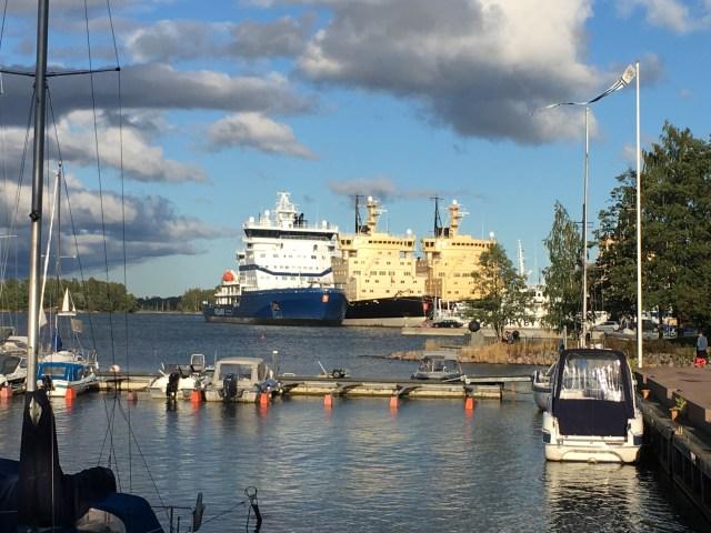 Baltic Ice-Breakers, Helsinki