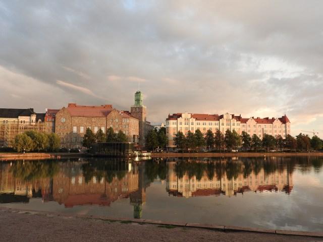 Bear Park Lake, Helsinki