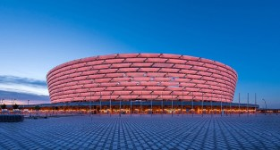Baku National Stadium, Azerbaijan