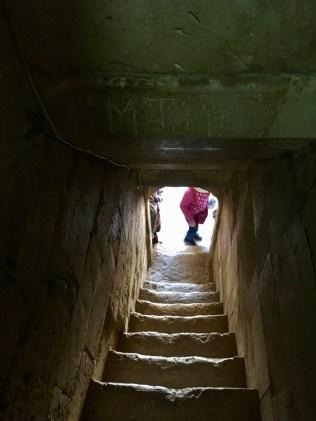 Diri Baba Mausoleum, Qobustan Staircase
