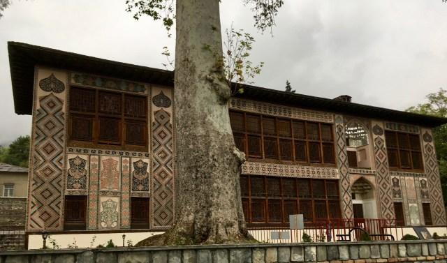 Exterior, Winter Palace, Sheki, Azerbaijan