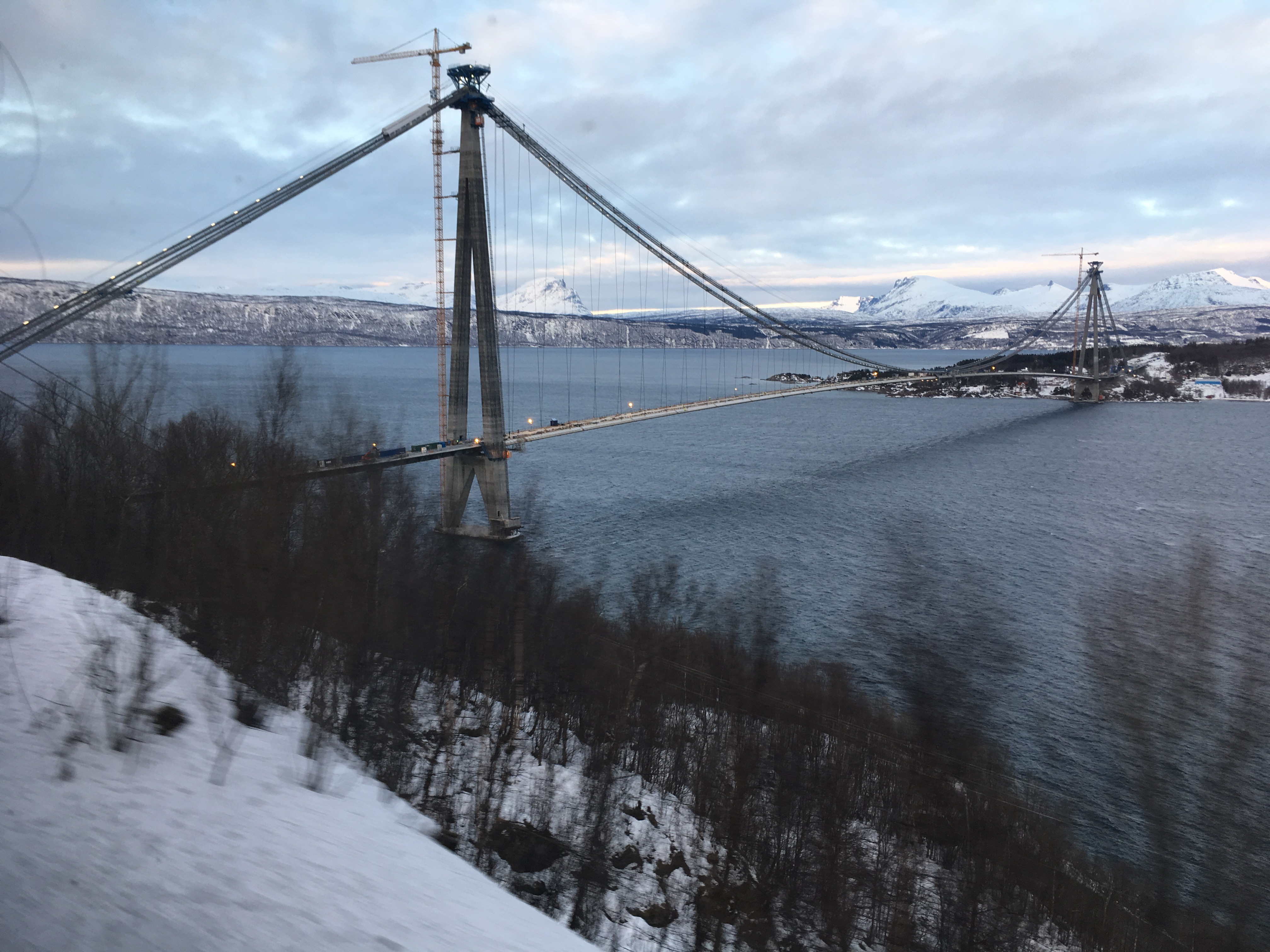 Hålogaland Bridge, Narvik, Norway