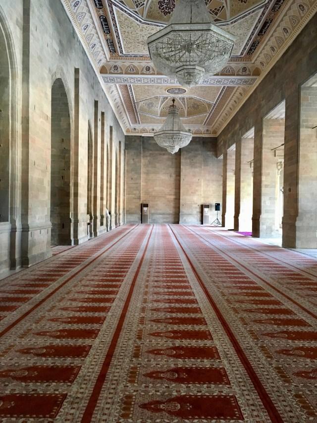Juma Mosque Interior, Shamakhi, Azerbaijan