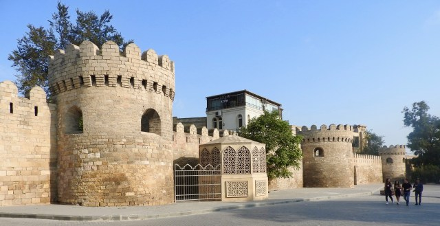 Old Town Walls, Baku