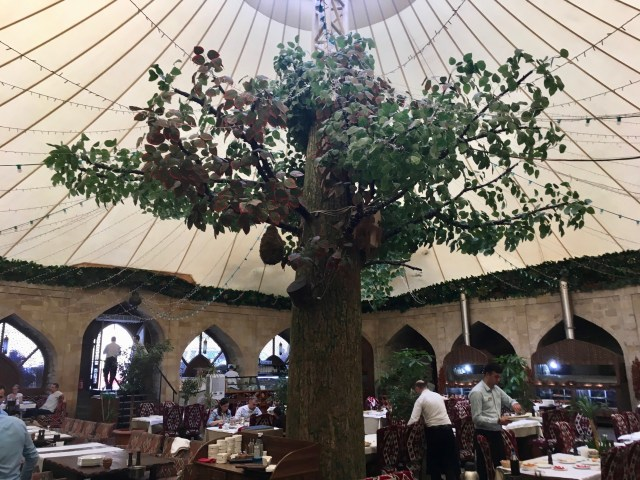 Old Town Restaurant Housed In A Former Caravanserai, Baku