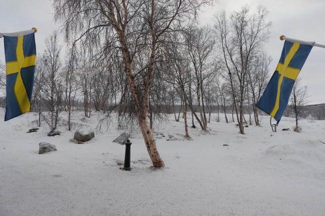 Snow Scene, Abisko, Sweden