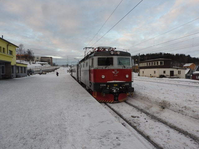 Train at Narvik Station