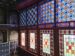 Windows, Winter Palace, Sheki, Azerbaijan