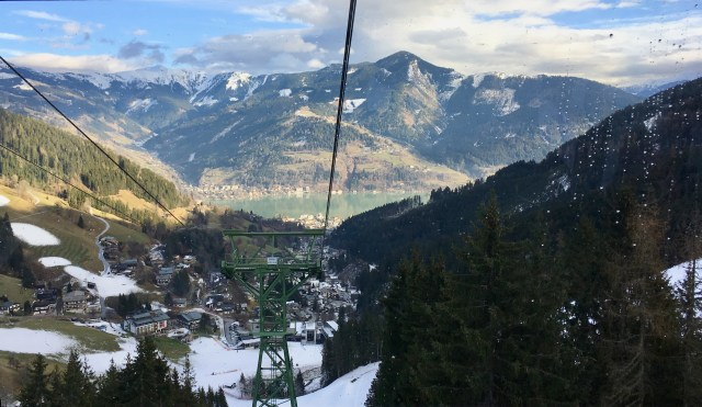 Zell am See, Austria - Cable Car View