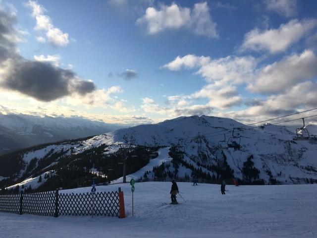 Schmittenhöhe skiing, Austria