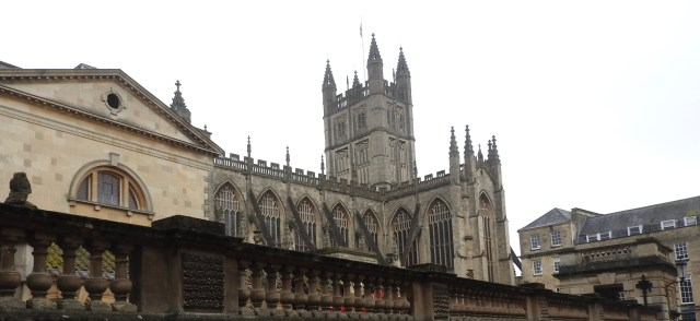 Bath Abbey, Bath, UK