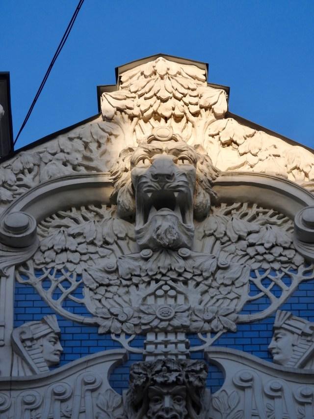 Riga Art Nouveau Detail 3