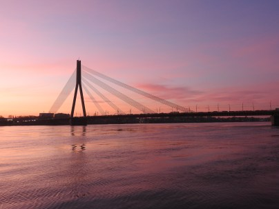 River Daugava Sunset, Riga