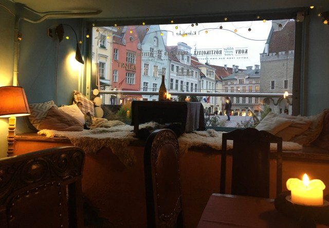 Cosy Cafe, Town Hall Square, Tallinn, Estonia