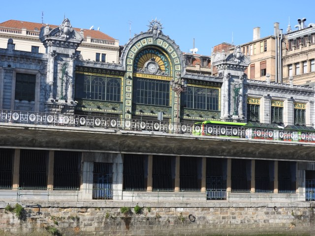 Bilbao Train Station Exterior