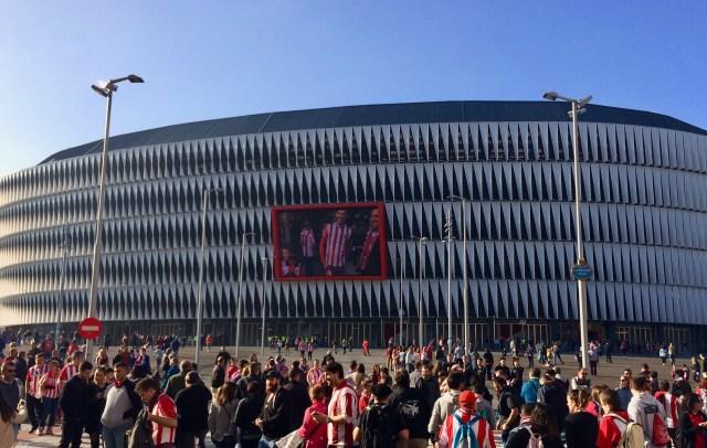 San Mamés Stadium Exterior, Bilbao