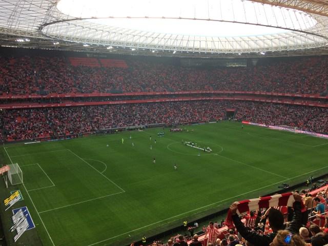 San Mamés Stadium Interior, Bilbao