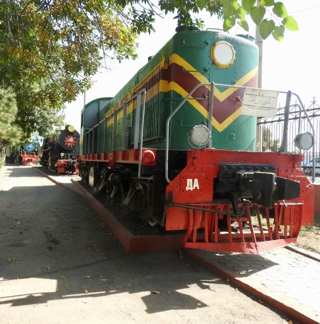 Tashkent Railway Museum, Uzbekistan
