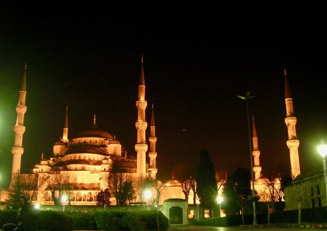 Blue Mosque at Night, Istanbul