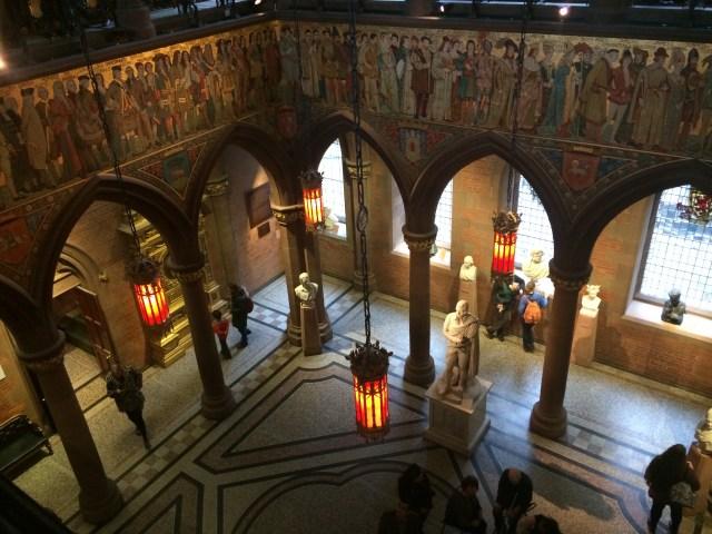 Interior National Portrait Gallery, Edinburgh