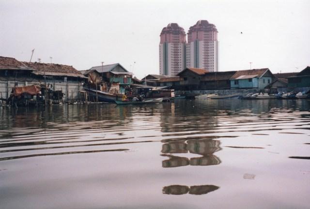 Jakarta Slum Area, Indonesia