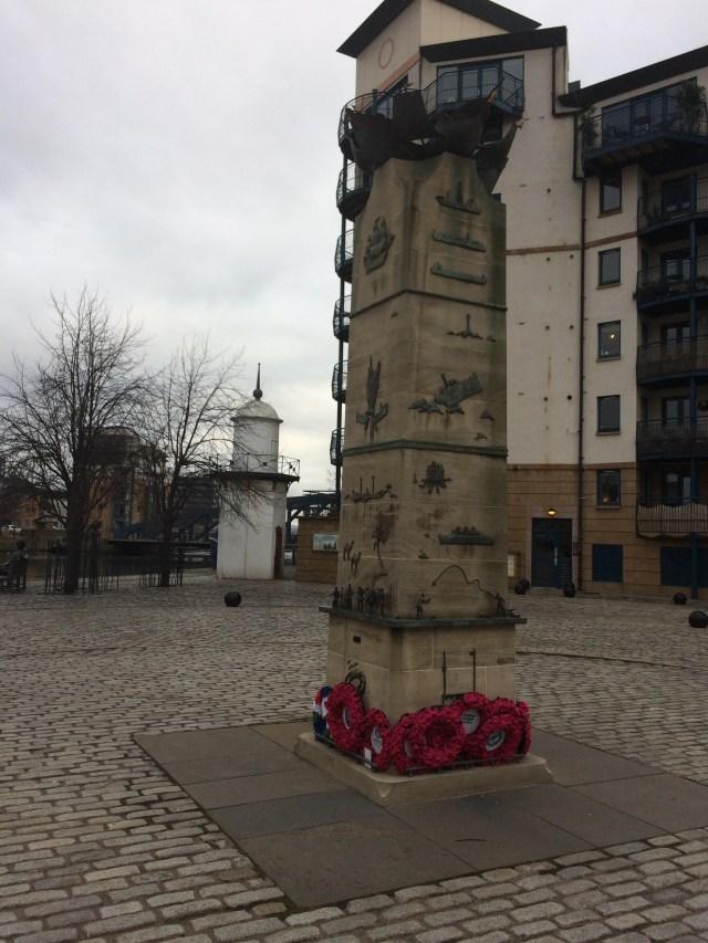 Naval Memorial, Leith, Edinburgh