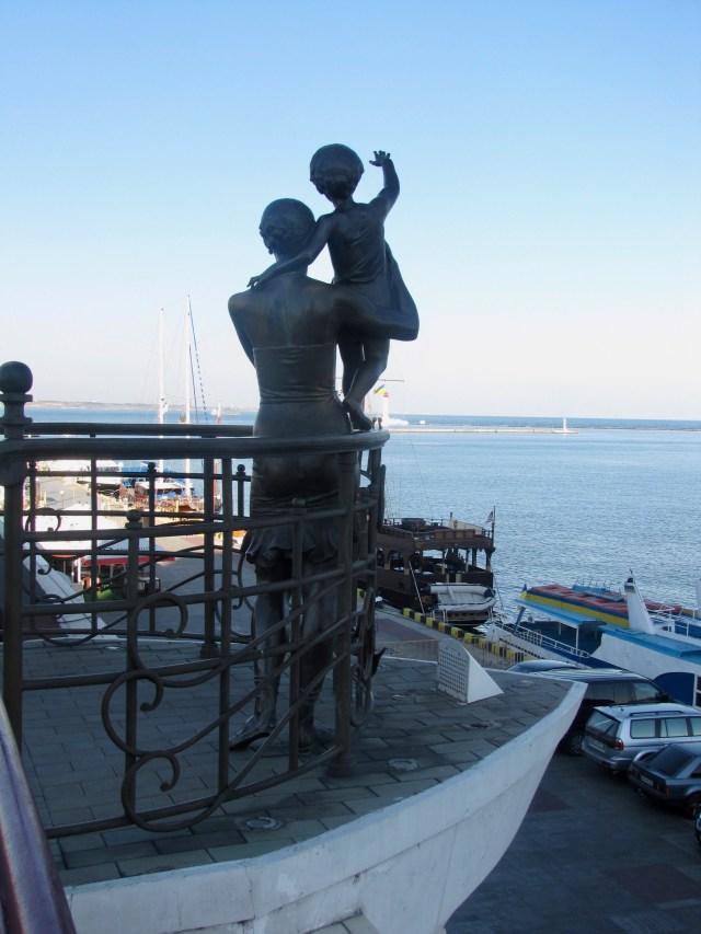 Bon Voyage Statue, Odessa Port